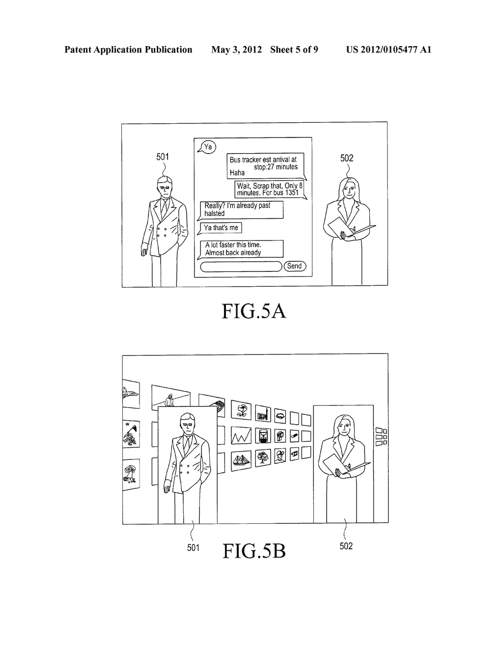 APPARATUS AND METHOD FOR DISPLAYING DATA IN PORTABLE TERMINAL - diagram, schematic, and image 06