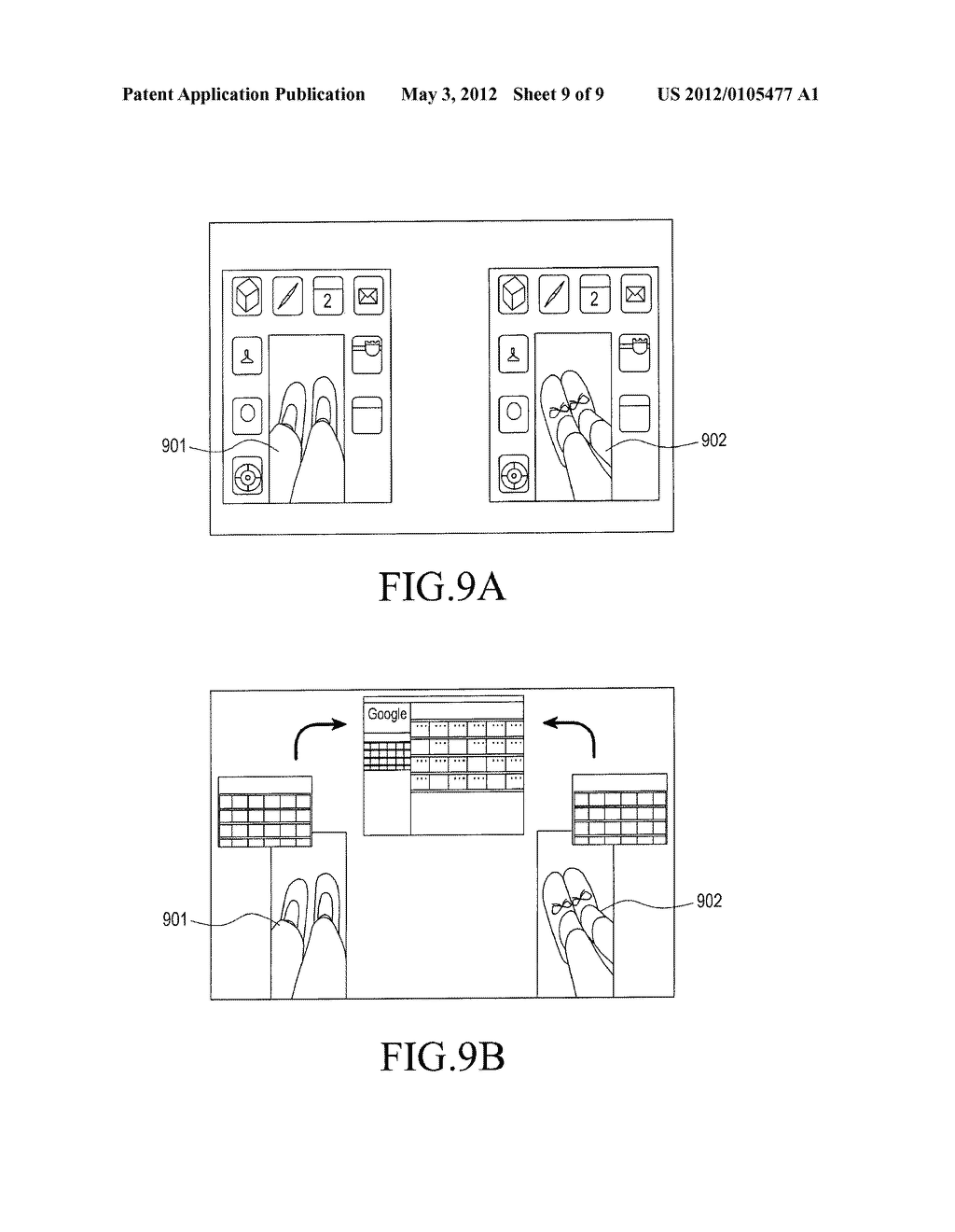 APPARATUS AND METHOD FOR DISPLAYING DATA IN PORTABLE TERMINAL - diagram, schematic, and image 10