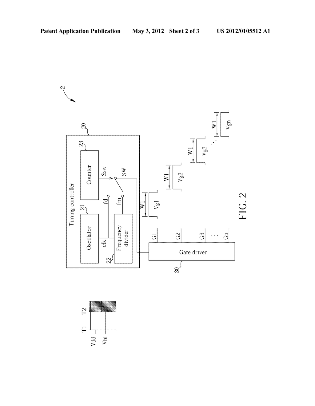 METHOD FOR CONTROLLING GATE SIGNALS AND DEVICE THEREOF - diagram, schematic, and image 03
