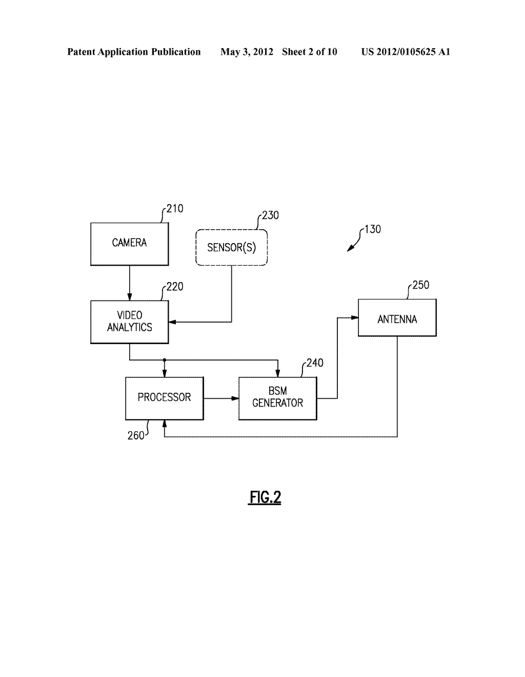 METHOD AND APPARATUS FOR GENERATING INFRASTRUCTURE-BASED BASIC SAFETY     MESSAGE DATA - diagram, schematic, and image 03