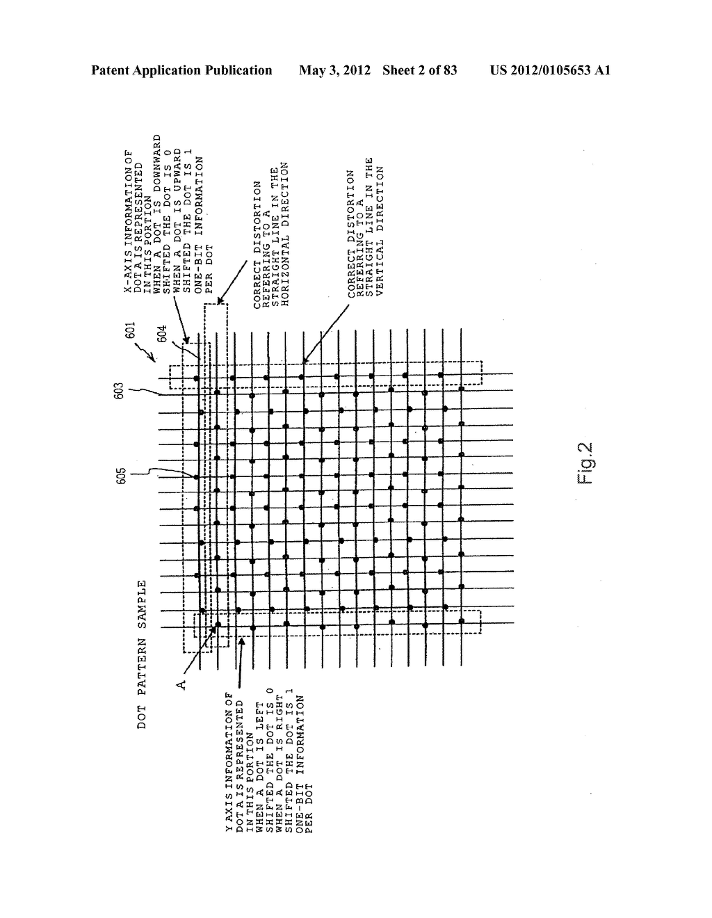 INFORMATION REPRODUCTION/I/O METHOD USING DOT PATTERN, INFORMATION     REPRODUCTION DEVICE, MOBILE INFORMATION I/O DEVICE, AND ELECTRONIC TOY     USING DOT PATTERN - diagram, schematic, and image 03