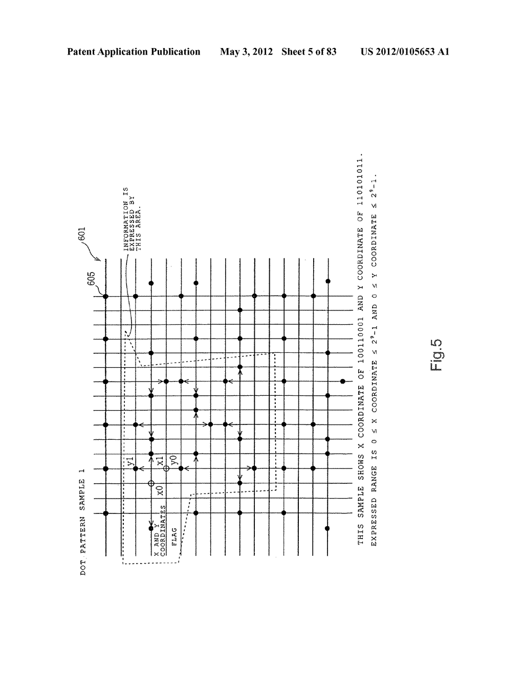 INFORMATION REPRODUCTION/I/O METHOD USING DOT PATTERN, INFORMATION     REPRODUCTION DEVICE, MOBILE INFORMATION I/O DEVICE, AND ELECTRONIC TOY     USING DOT PATTERN - diagram, schematic, and image 06