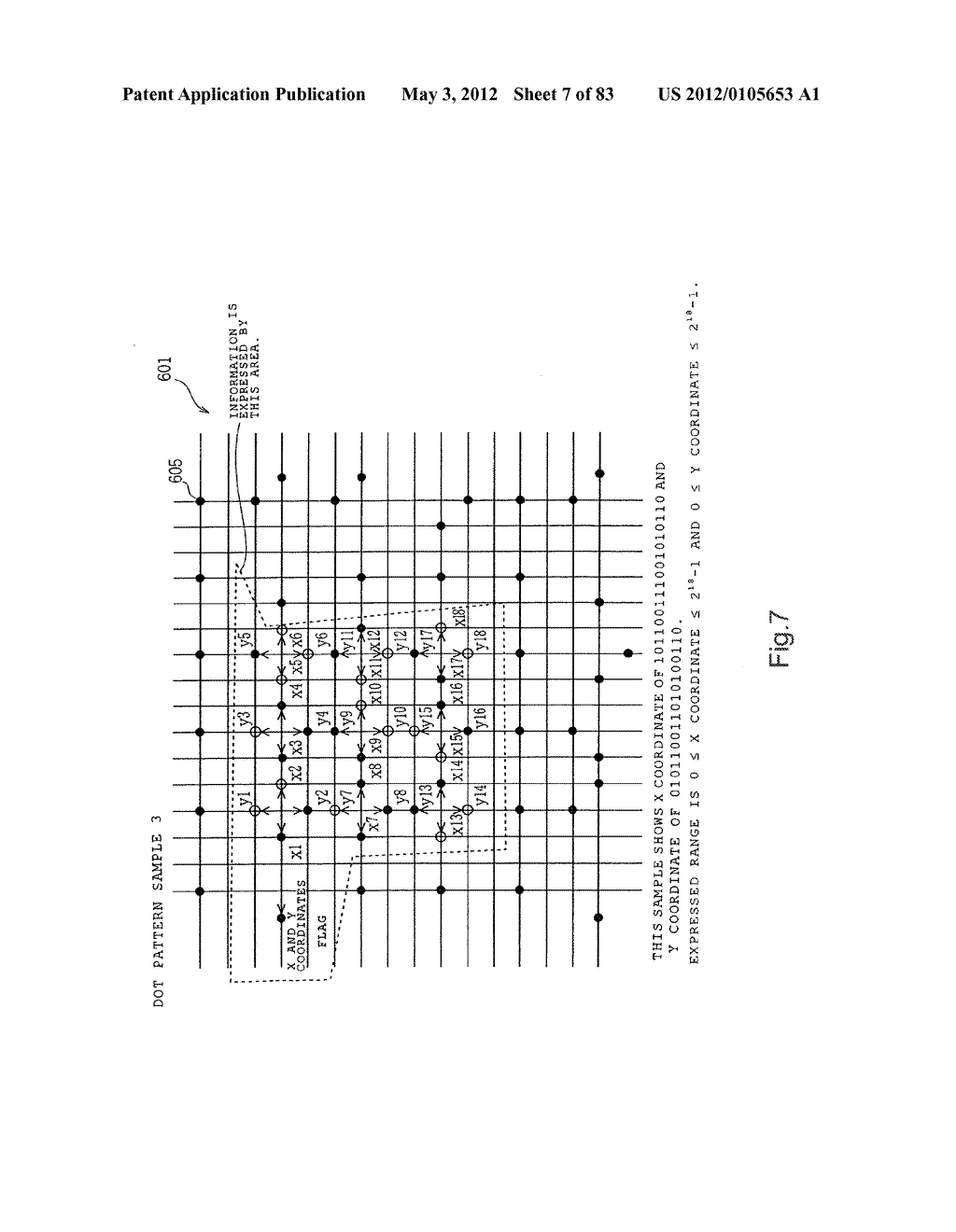 INFORMATION REPRODUCTION/I/O METHOD USING DOT PATTERN, INFORMATION     REPRODUCTION DEVICE, MOBILE INFORMATION I/O DEVICE, AND ELECTRONIC TOY     USING DOT PATTERN - diagram, schematic, and image 08