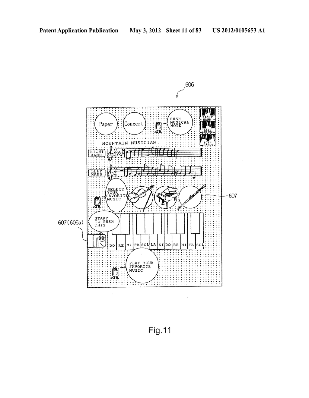 INFORMATION REPRODUCTION/I/O METHOD USING DOT PATTERN, INFORMATION     REPRODUCTION DEVICE, MOBILE INFORMATION I/O DEVICE, AND ELECTRONIC TOY     USING DOT PATTERN - diagram, schematic, and image 12