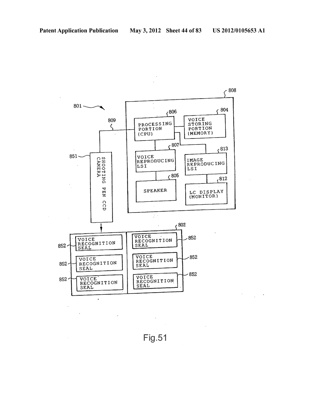 INFORMATION REPRODUCTION/I/O METHOD USING DOT PATTERN, INFORMATION     REPRODUCTION DEVICE, MOBILE INFORMATION I/O DEVICE, AND ELECTRONIC TOY     USING DOT PATTERN - diagram, schematic, and image 45