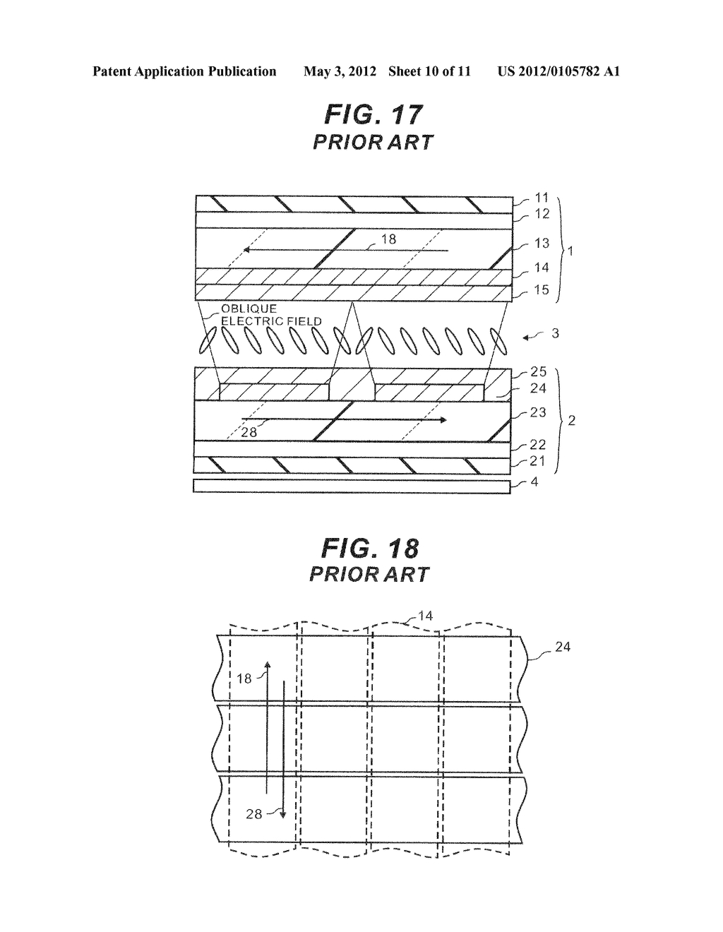 LIQUID CRYSTAL DISPLAY ELEMENT - diagram, schematic, and image 11