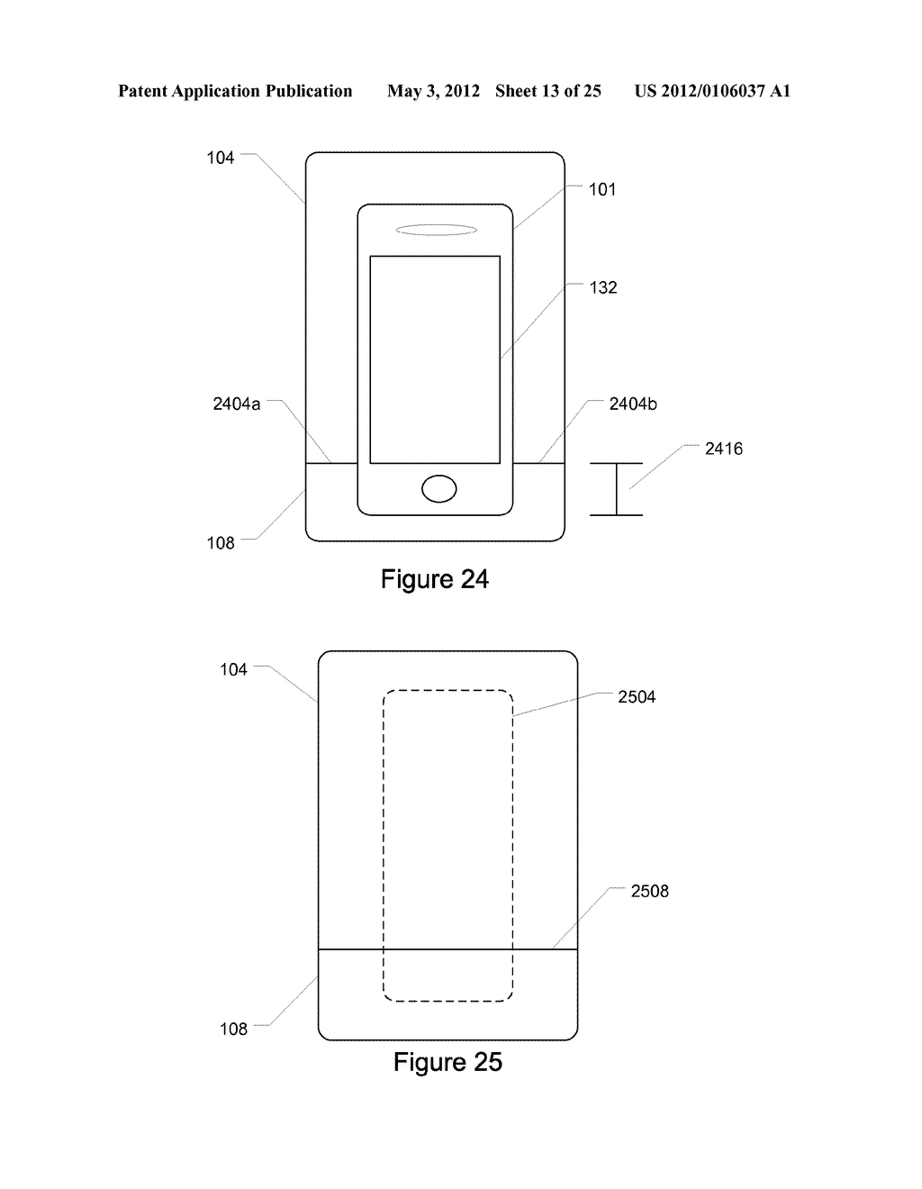 Portable Electronic Device Case with Battery - diagram, schematic, and image 14