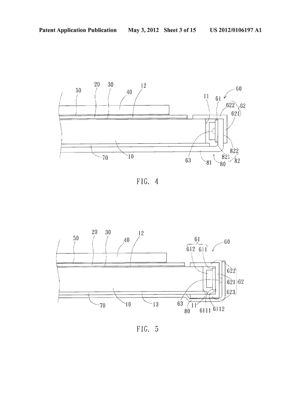 Flat Panel Display Structure and Manufacturing Method Thereof - diagram, schematic, and image 04