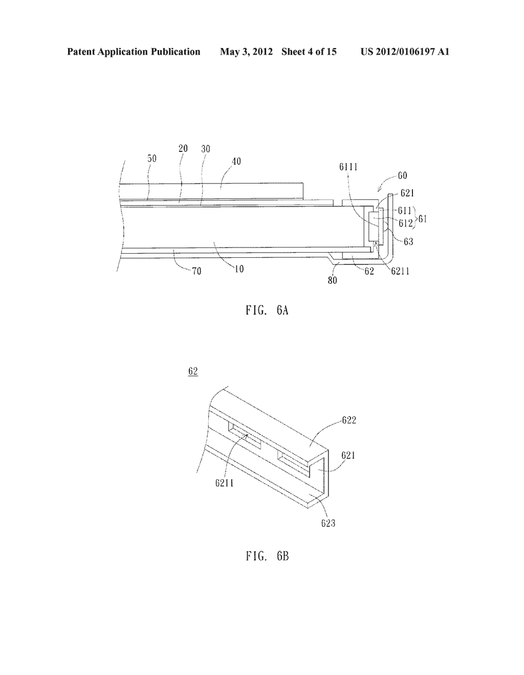 Flat Panel Display Structure and Manufacturing Method Thereof - diagram, schematic, and image 05