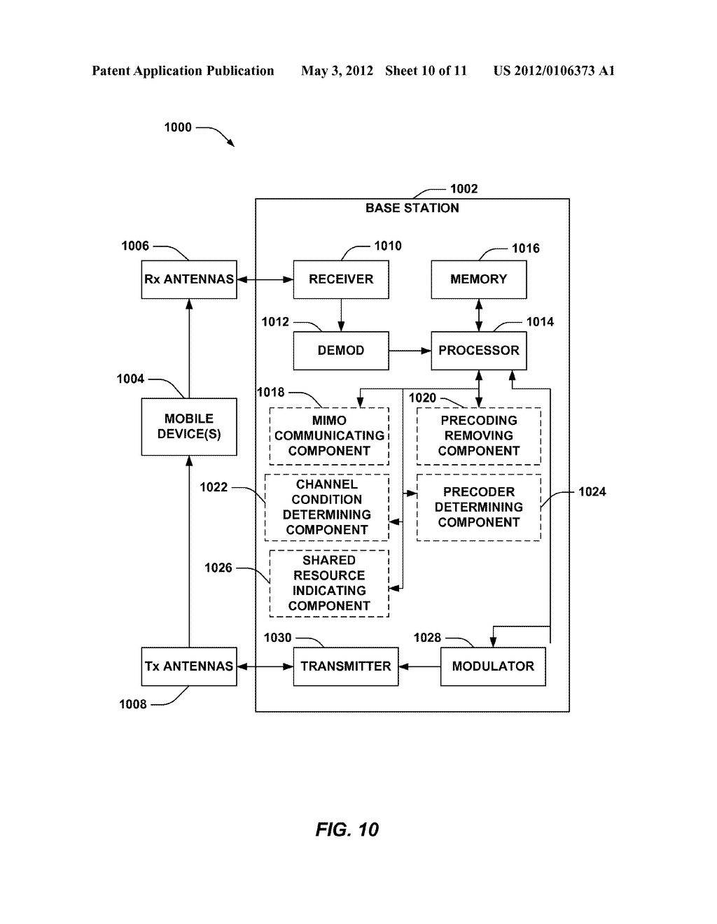 METHOD AND APPARATUS FOR SOUNDING ANTENNAS IN WIRELESS COMMUNICATION - diagram, schematic, and image 11