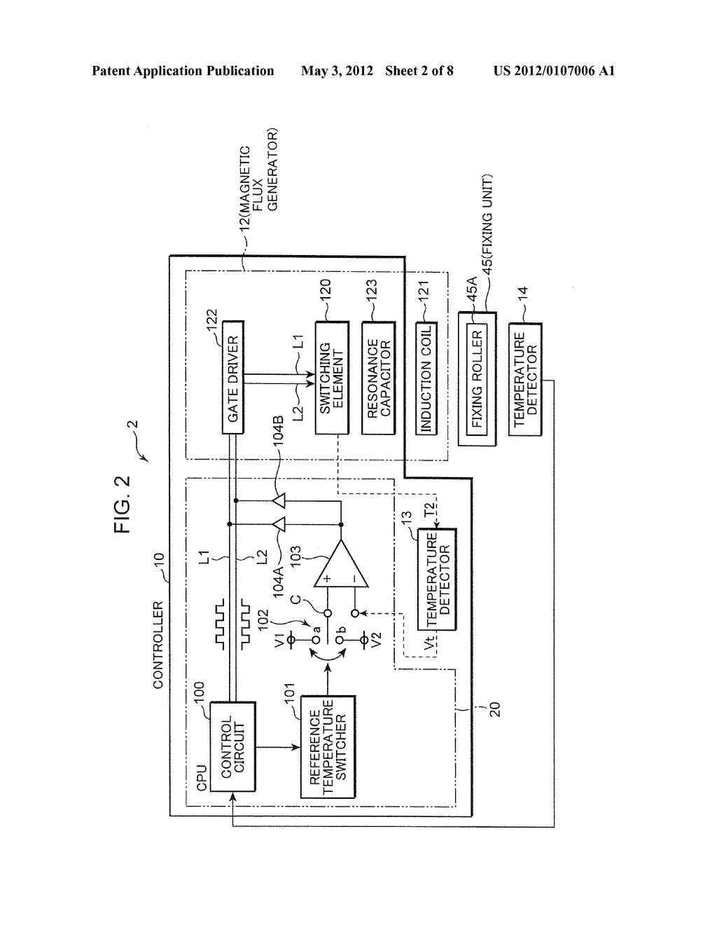 FIXING DEVICE AND IMAGE FORMING APPARATUS WITH THE SAME - diagram, schematic, and image 03