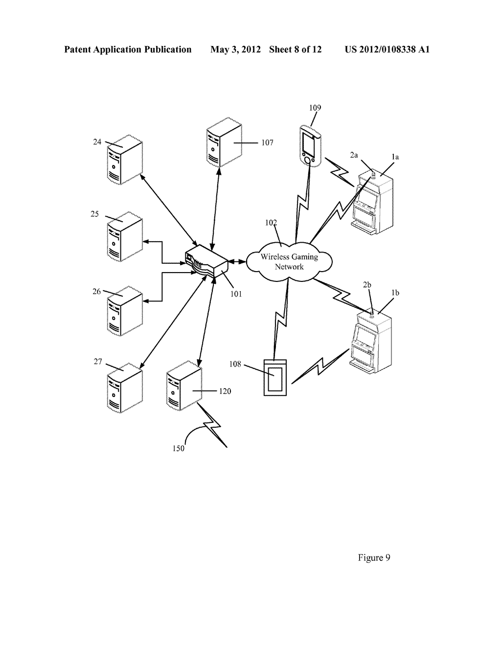 CANDLE DEVICE FOR GENERATING DISPLAY INTERFACES ON THE MAIN DISPLAY OF A     GAMING MACHINE - diagram, schematic, and image 09