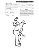 Device for instructing downswing in golf swing diagram and image
