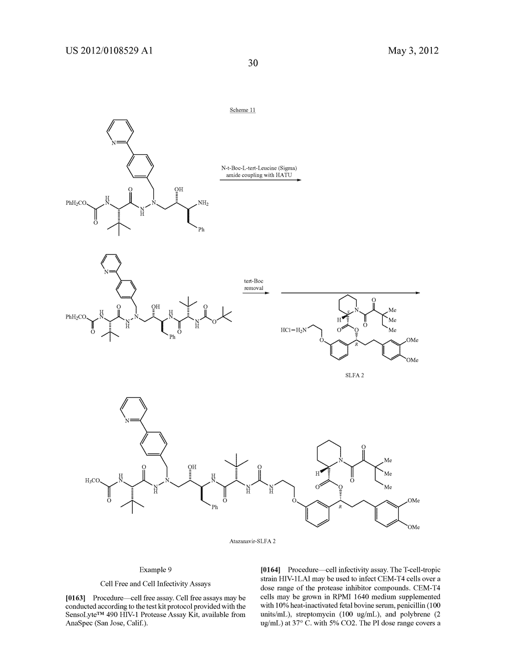 PROTEASE INHIBITORS - diagram, schematic, and image 31
