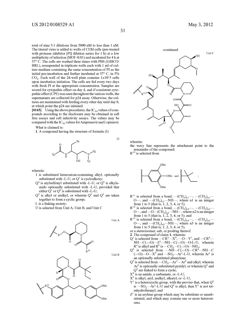 PROTEASE INHIBITORS - diagram, schematic, and image 32