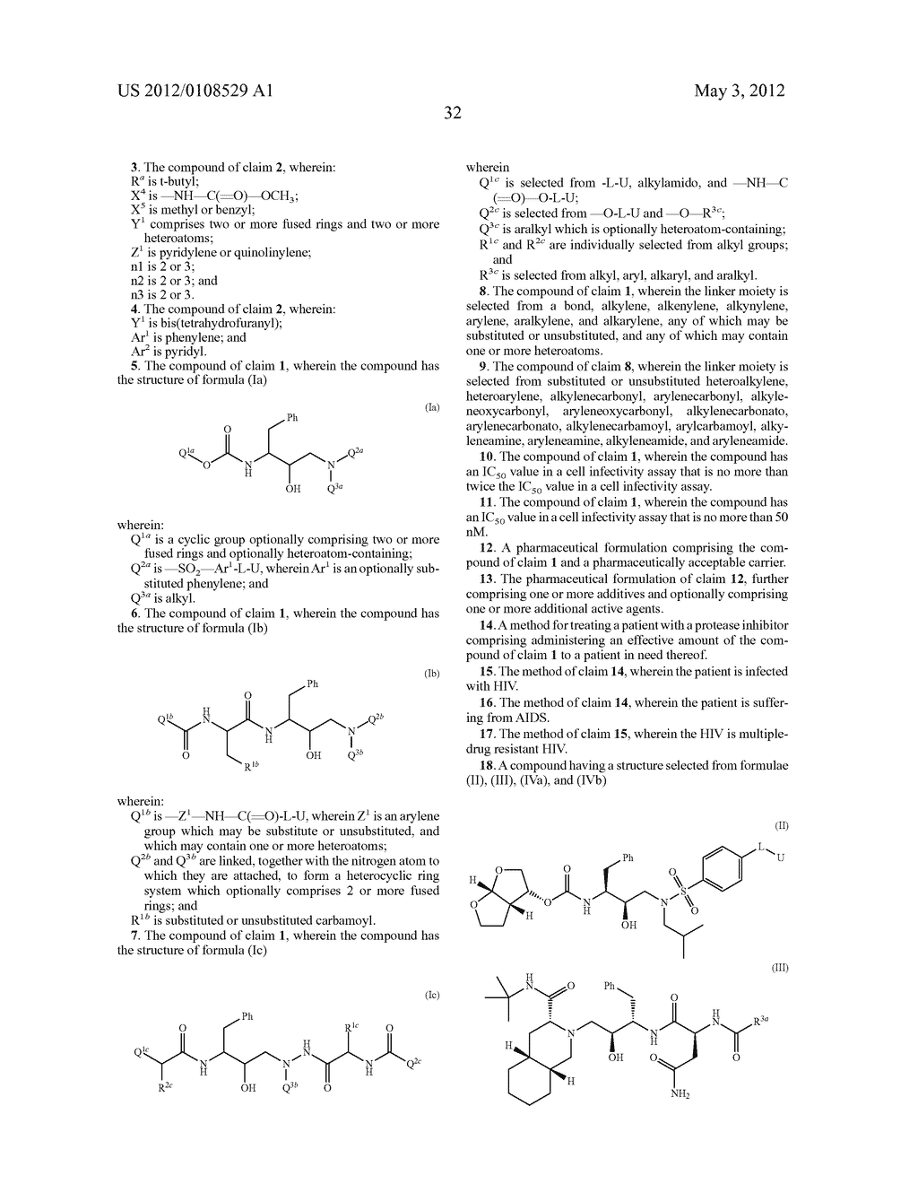 PROTEASE INHIBITORS - diagram, schematic, and image 33
