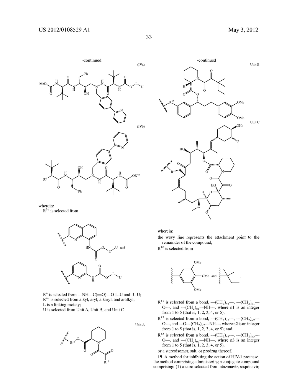 PROTEASE INHIBITORS - diagram, schematic, and image 34