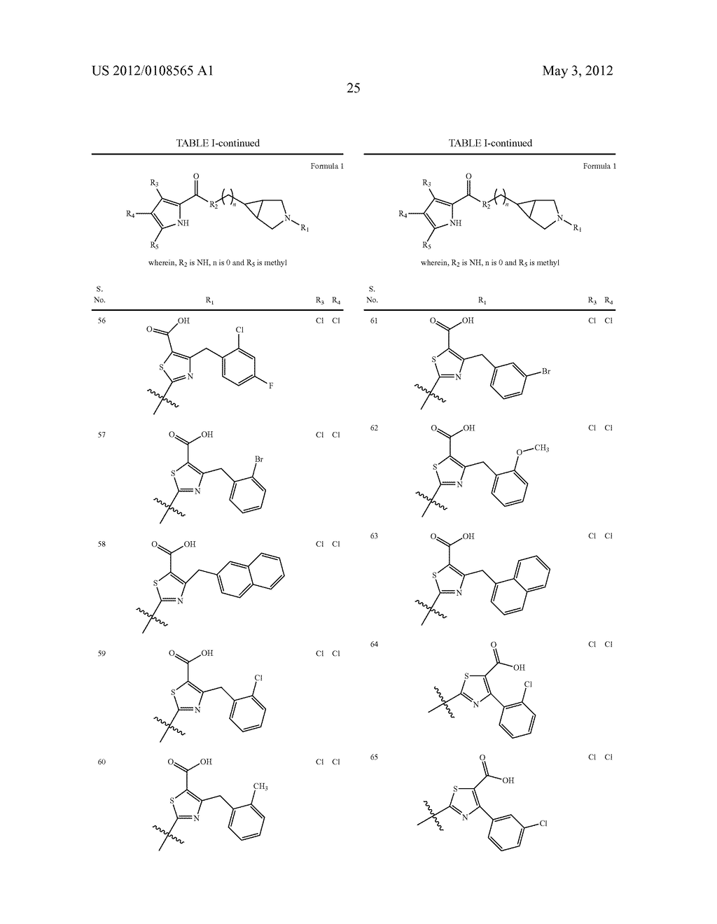 PYRROLE CARBOXYLIC ACID DERIVATIVES AS ANTIBACTERIAL AGENTS - diagram, schematic, and image 26