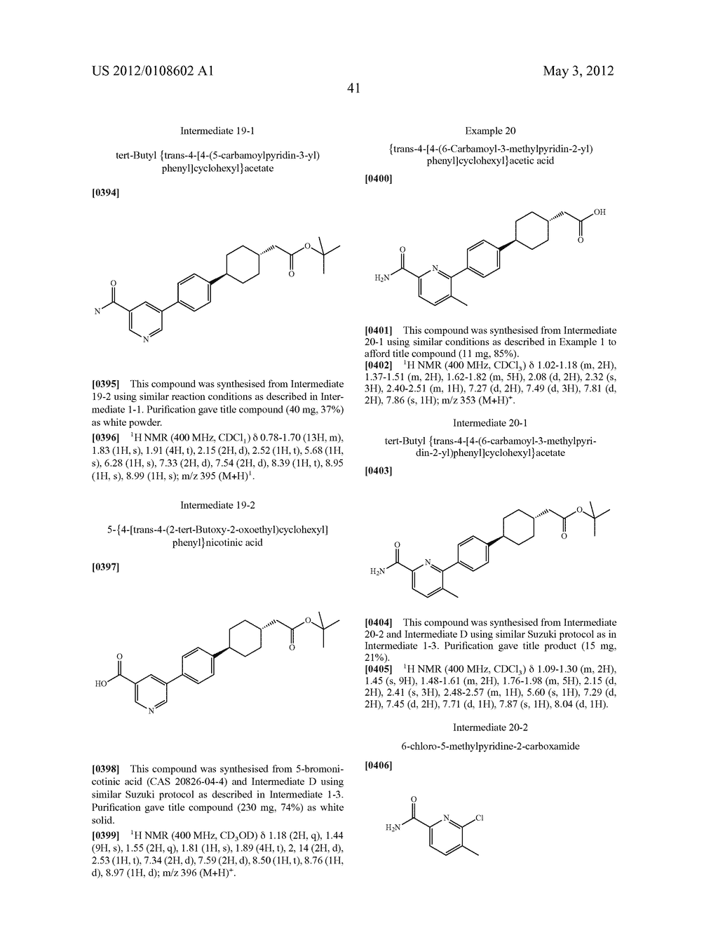 Carbamoyl Compounds as DGAT1 Inhibitors 190 - diagram, schematic, and image 42