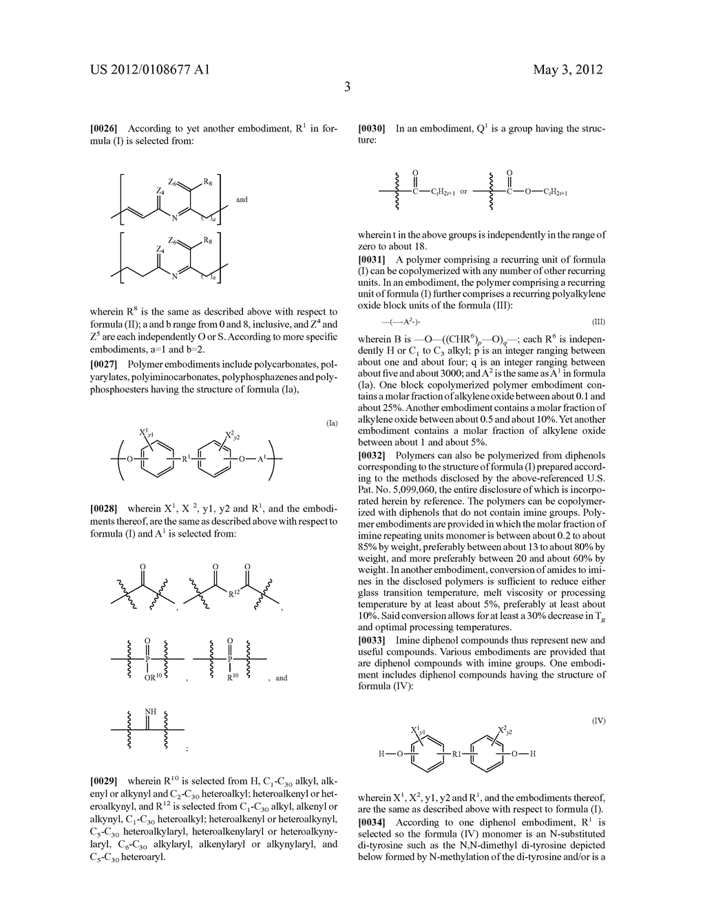 IMINIC MONOMERS AND POLYMERS THEREOF - diagram, schematic, and image 04