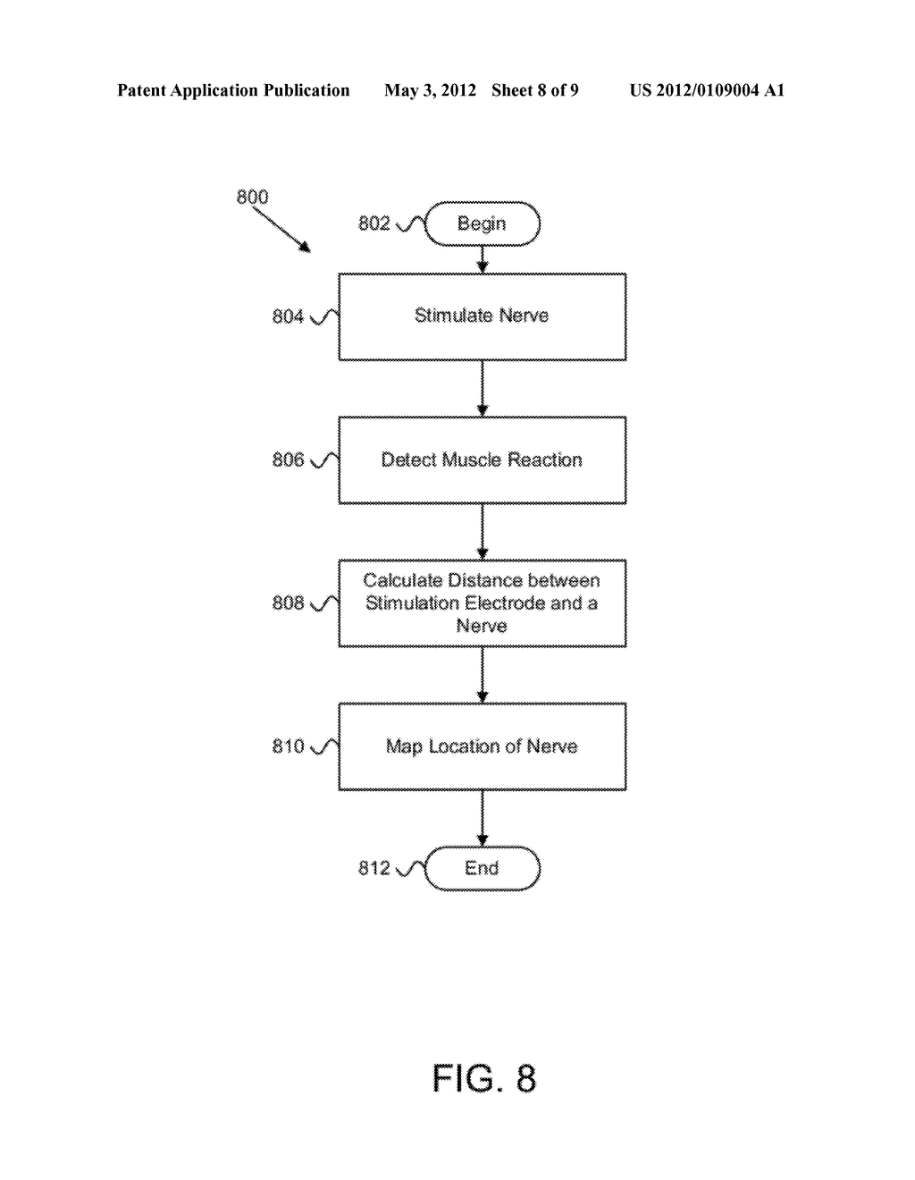 APPARATUS, SYSTEM, AND METHOD FOR MAPPING THE LOCATION OF A NERVE - diagram, schematic, and image 09