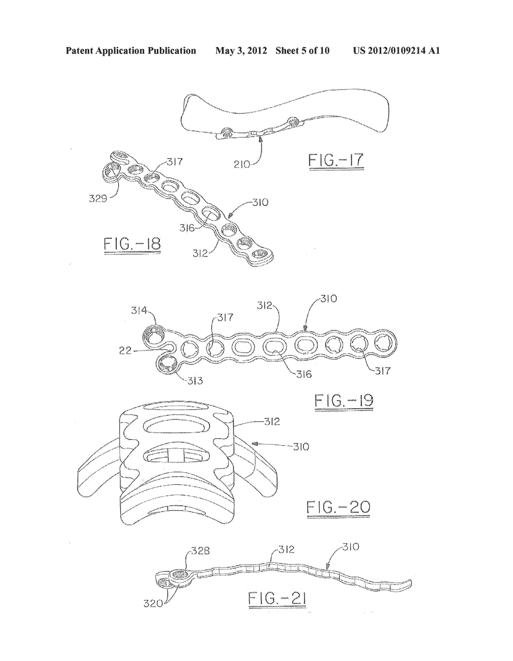 ORTHOPEDIC PLATES FOR USE IN CLAVICLE REPAIR AND METHODS FOR THEIR USE - diagram, schematic, and image 06