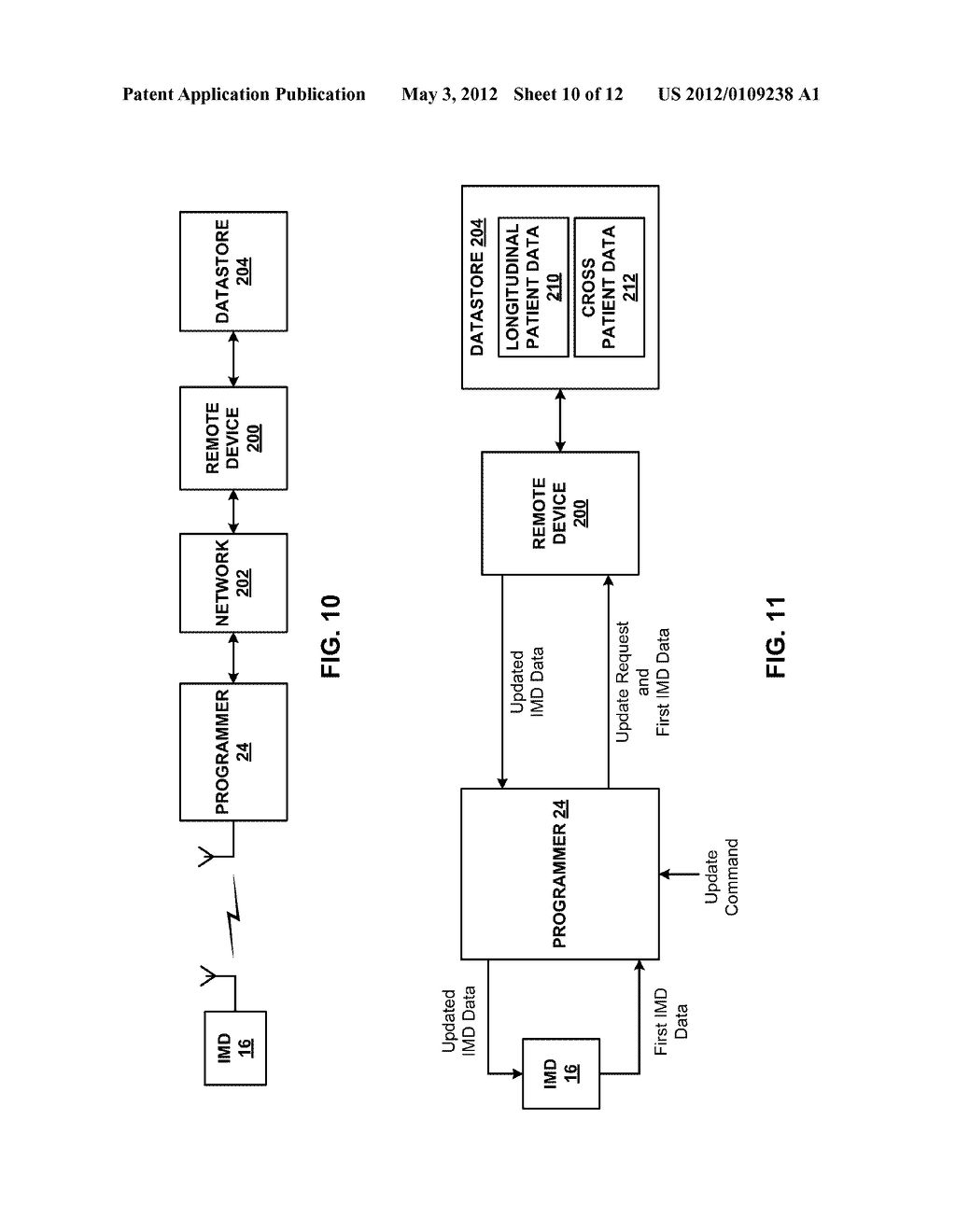 AUTOMATIC PERSONALIZATION OF PARAMETER SETTINGS AND ALGORITHMS IN A     MEDICAL DEVICE - diagram, schematic, and image 11