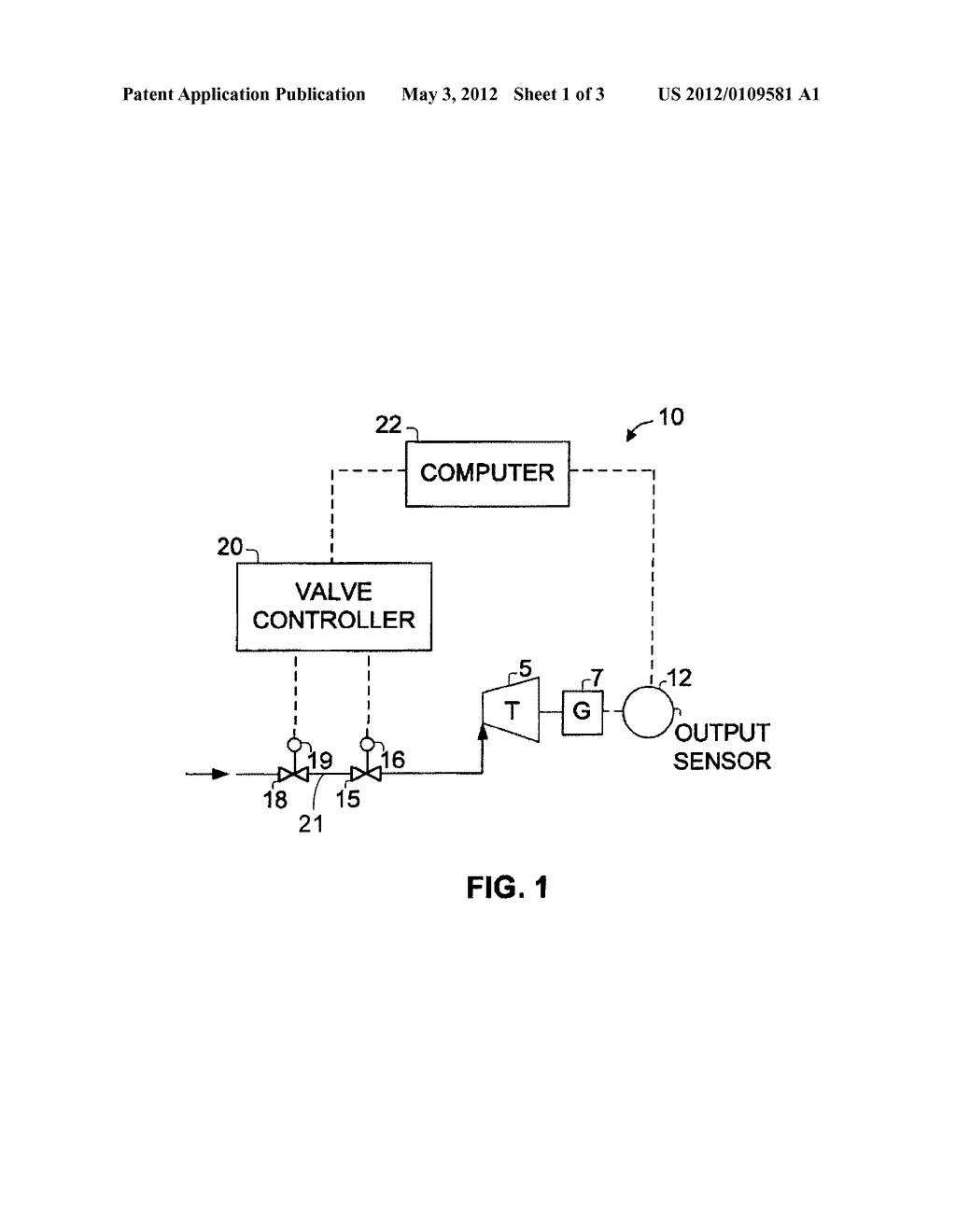 DIAGNOSTIC SYSTEM AND METHOD FOR AN ESSENTIAL TURBINE VALVE - diagram, schematic, and image 02