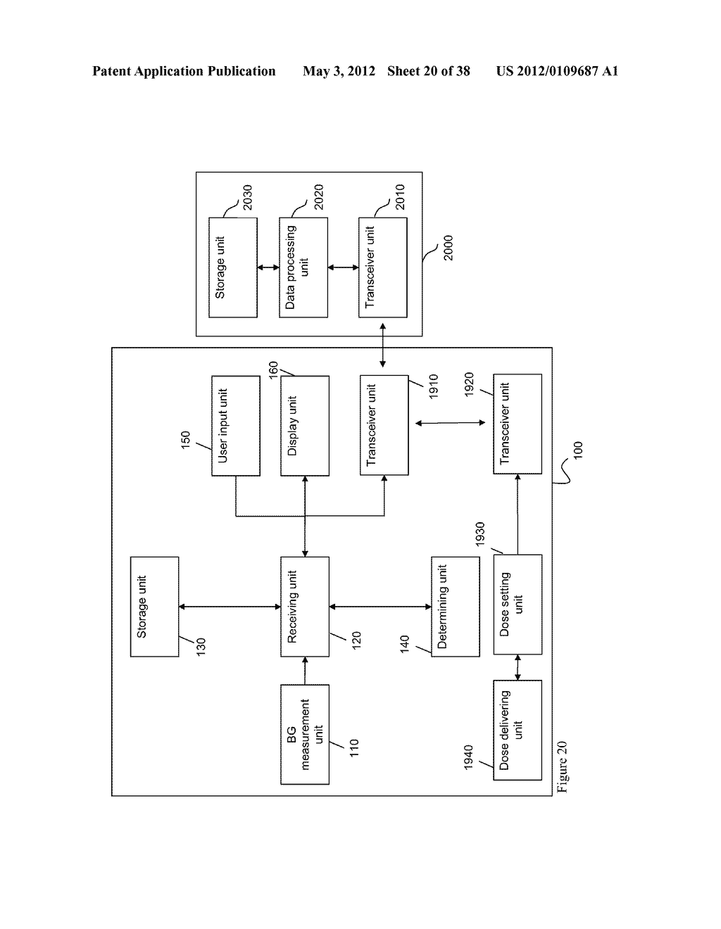 Medical System and Method for Providing Information for Glycemic Control - diagram, schematic, and image 21