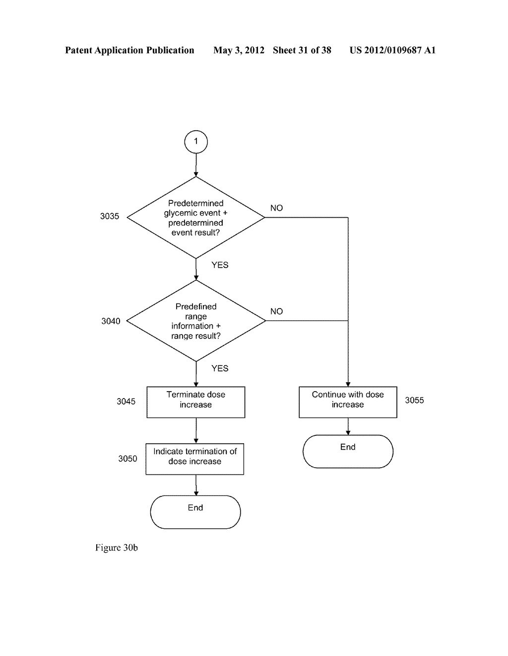 Medical System and Method for Providing Information for Glycemic Control - diagram, schematic, and image 32