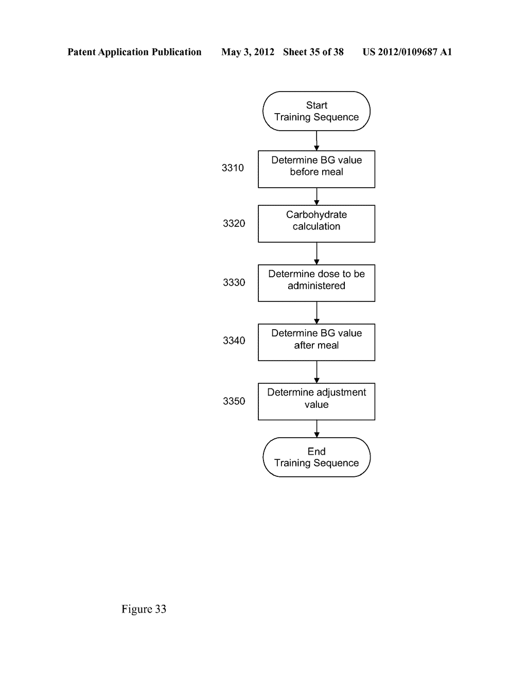 Medical System and Method for Providing Information for Glycemic Control - diagram, schematic, and image 36