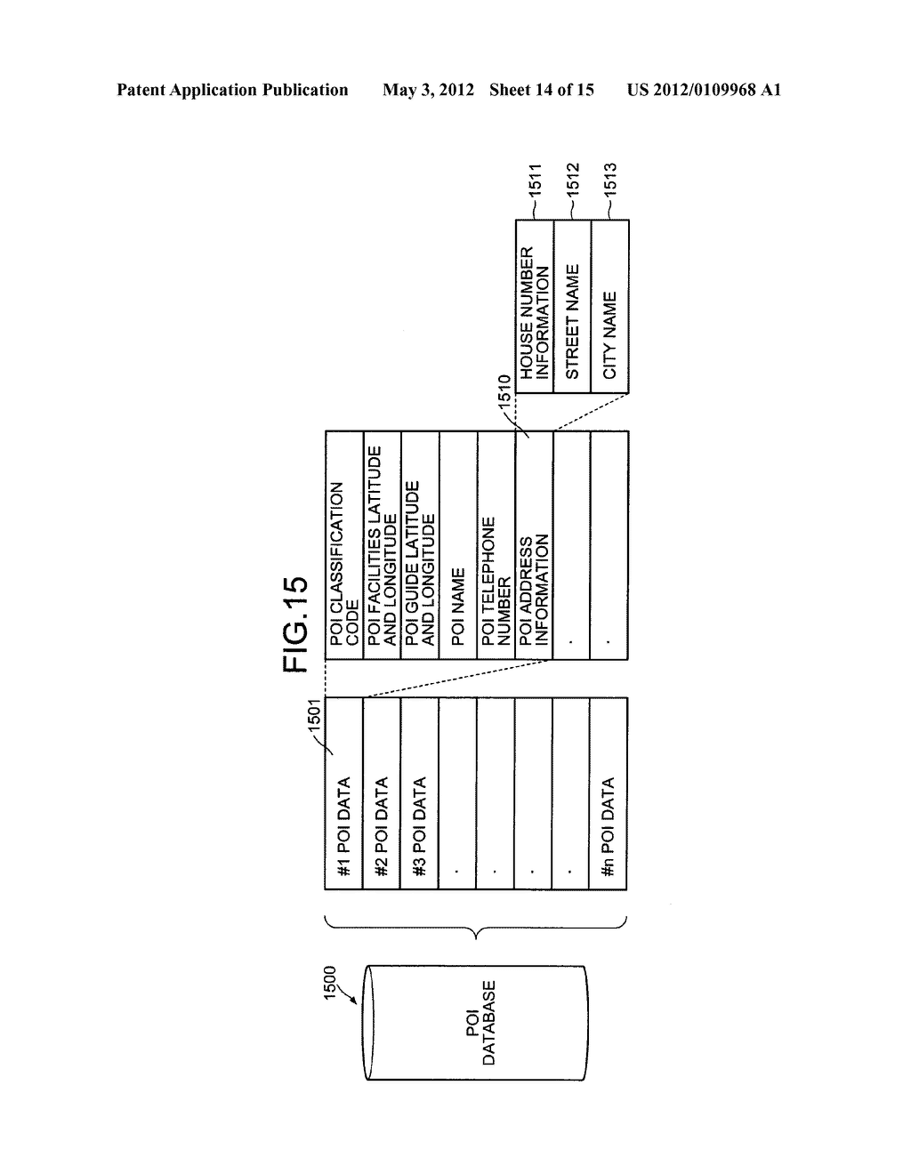 INFORMATION PROCESSING APPARATUS, INFORMATION CREATING APPARATUS,     INFORMATION PROCESSING METHOD, INFORMATION CREATING METHOD, INFORMATION     PROCESSING POROGRAM, INFORMATION CREATINGN PROGRAM, AND RECORDING MEDIUM - diagram, schematic, and image 15