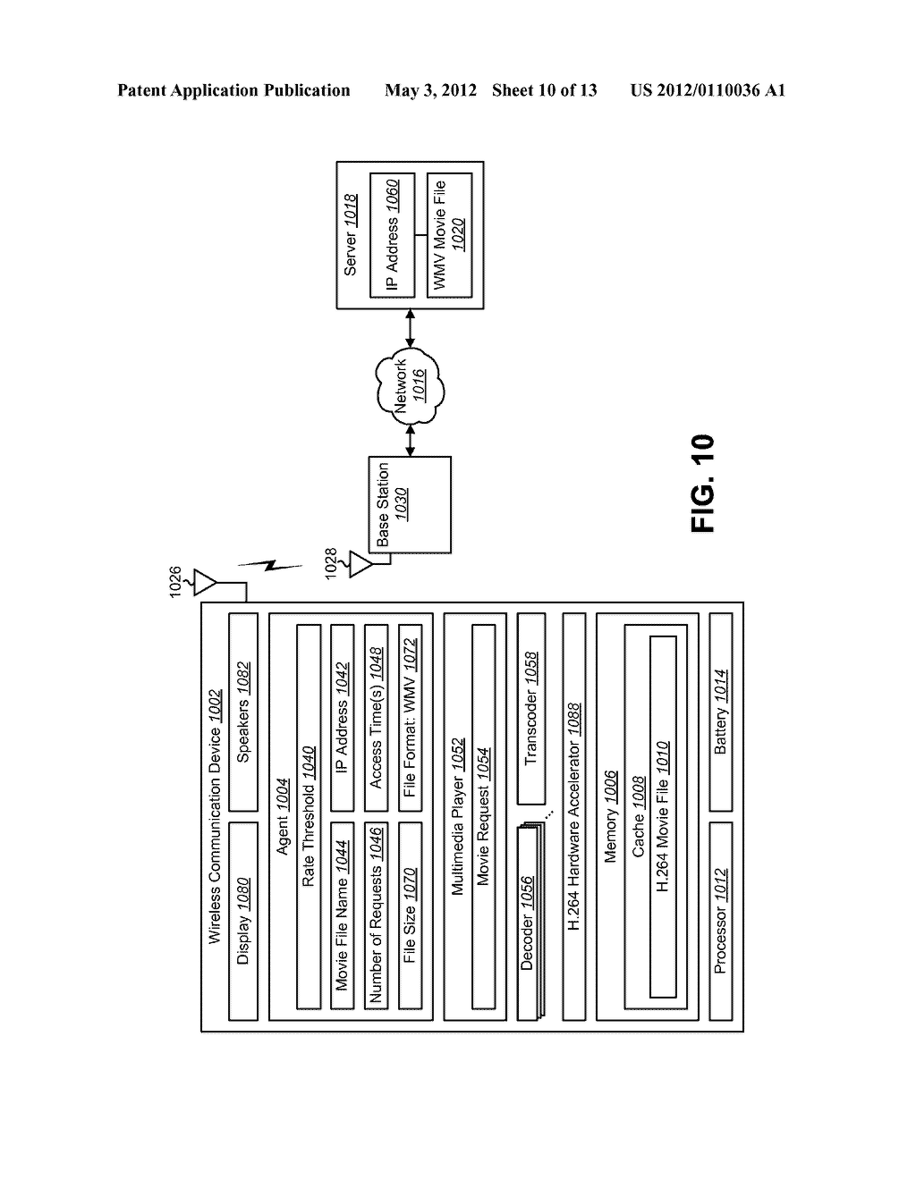MEDIA FILE CACHING FOR AN ELECTRONIC DEVICE TO CONSERVE RESOURCE - diagram, schematic, and image 11