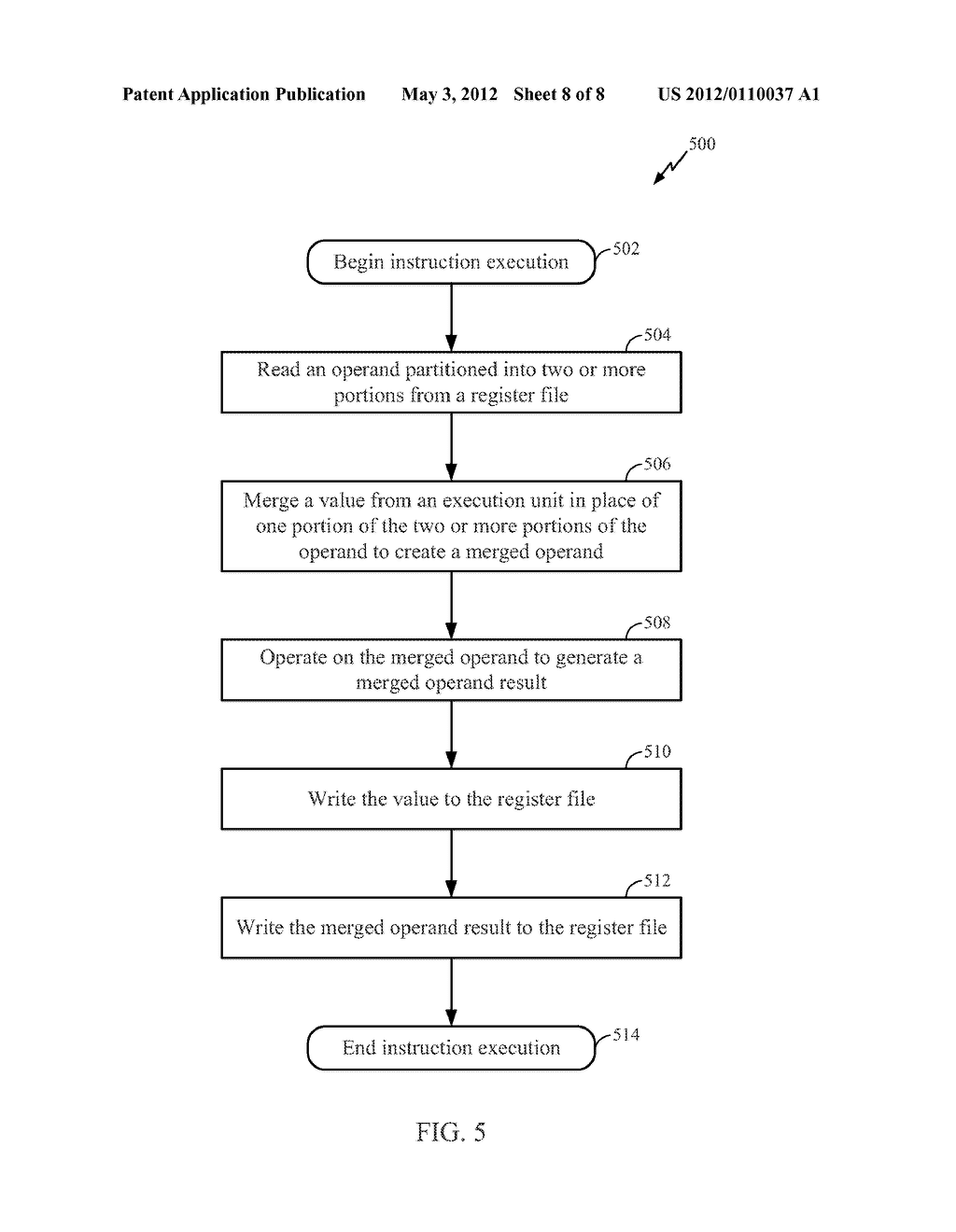 Methods and Apparatus for a Read, Merge and Write Register File - diagram, schematic, and image 09