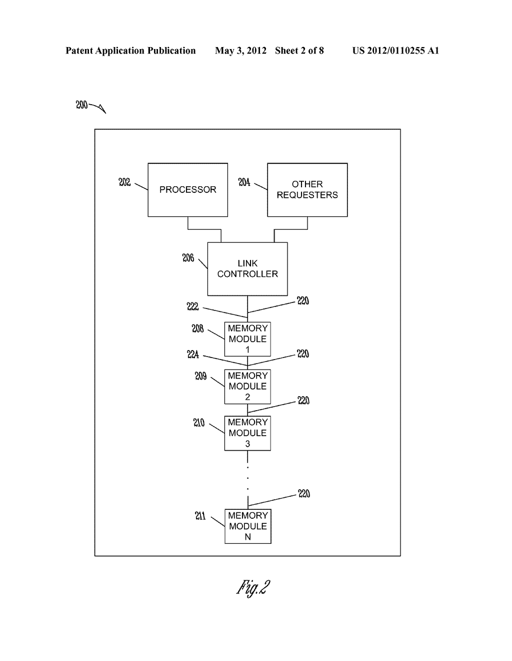 METHOD AND APPARATUS FOR SENDING DATA FROM MULTIPLE SOURCES OVER A     COMMUNICATIONS BUS - diagram, schematic, and image 03