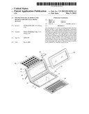 HOLDER WITH SOLAR MODULE FOR HOLDING PORTABLE ELECTRONIC DEVICES diagram and image