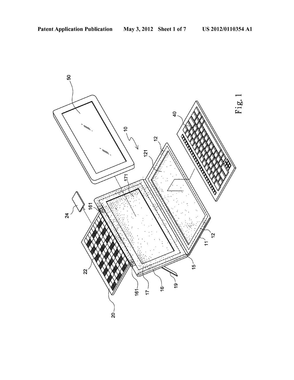 HOLDER WITH SOLAR MODULE FOR HOLDING PORTABLE ELECTRONIC DEVICES - diagram, schematic, and image 02