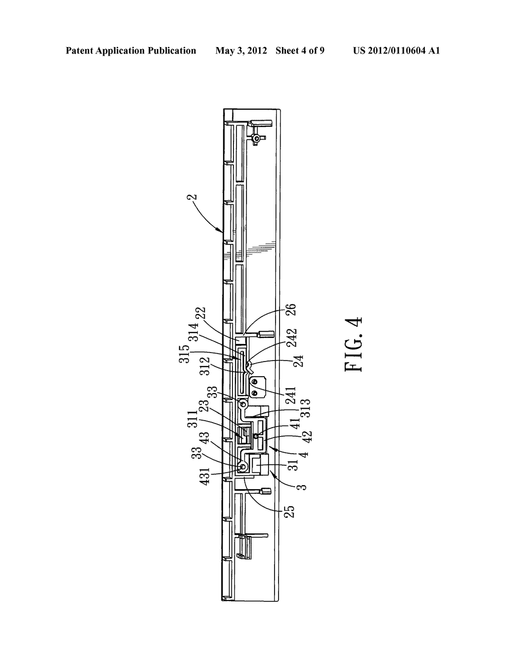 LOCKING MECHANISM AND AN OPTICAL DISK DRIVE HAVING THE SAME - diagram, schematic, and image 05