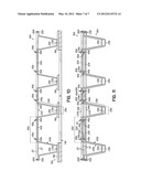 Bedding Foundation Having Nestably Stackable Spring Assembly Welded To     Border Wire With Generally Rectangular Cross-Section diagram and image