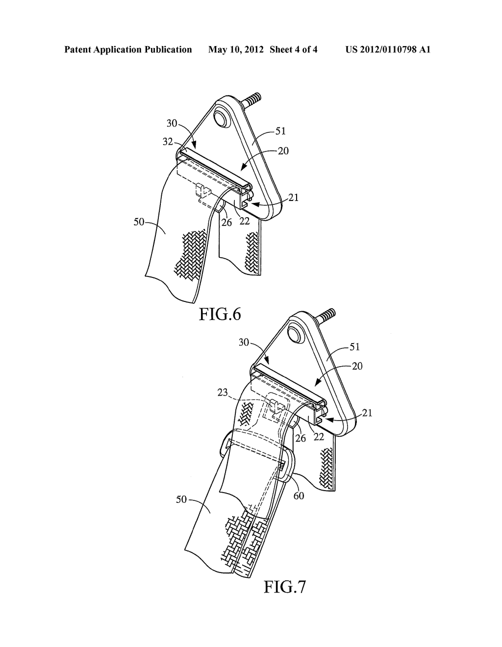 FAST LOCK FIXING CLIP FOR VEHICLE SEATBELT - diagram, schematic, and image 05