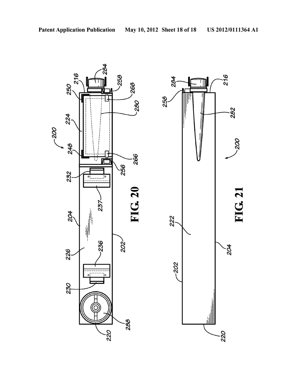 CONCRETE MIXING TRUCK CHUTE WASHING APPARATUS AND METHOD OF USING SAME - diagram, schematic, and image 19