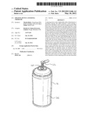 Spraying Device and Refill Therefor diagram and image