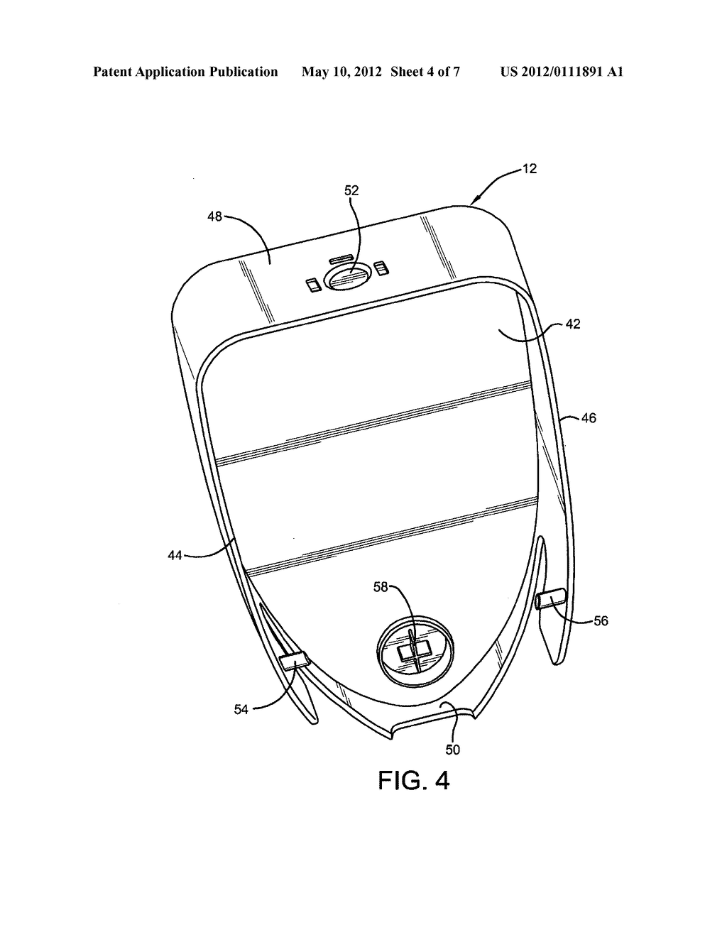 DISPENSER WITH FLEXIBLE COVER - diagram, schematic, and image 05