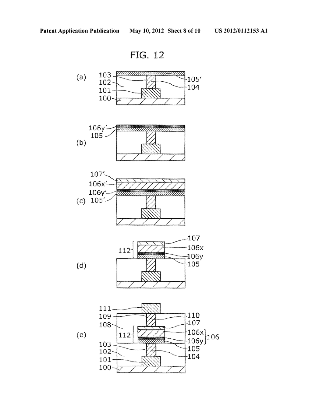 NONVOLATILE MEMORY DEVICE AND METHOD OF MANUFACTURING THE SAME - diagram, schematic, and image 09