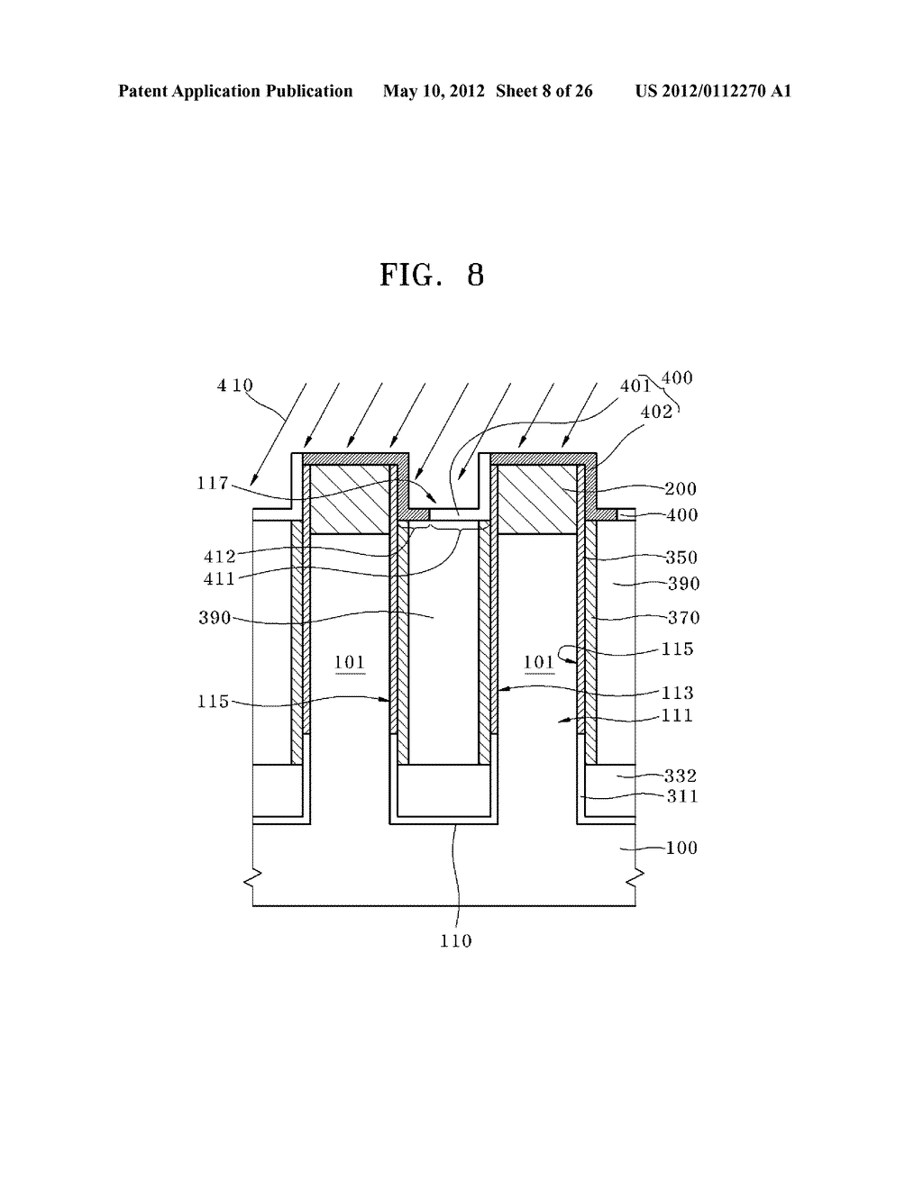 VERTICAL TRANSISTOR HAVING BURIED JUNCTION AND METHOD FOR MANUFACTURING     THE SAME - diagram, schematic, and image 09