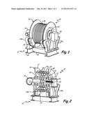 ELEVATOR MACHINE WITH EXTERNAL ROTOR AND MOTOR WITHIN TRACTION SHEAVE diagram and image