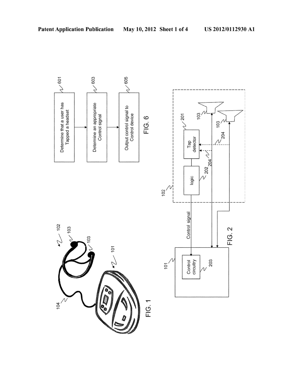 METHOD AND APPARATUS FOR CONTROLLING A DEVICE - diagram, schematic, and image 02