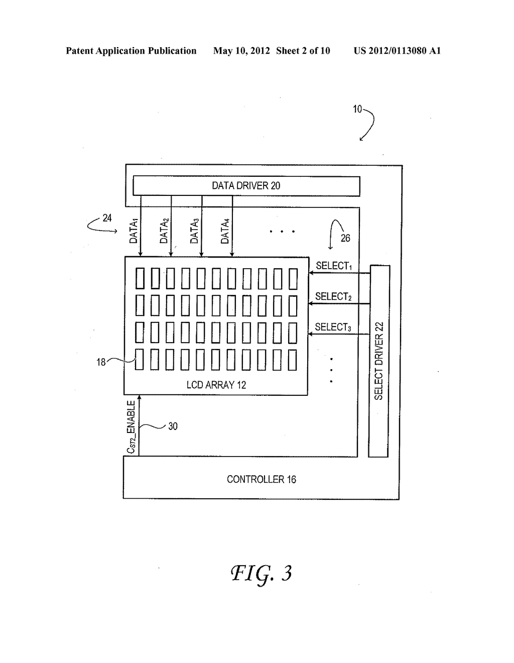 Thin-Film Transistor Liquid-Crystal Display with Variable Frame Frequency - diagram, schematic, and image 03