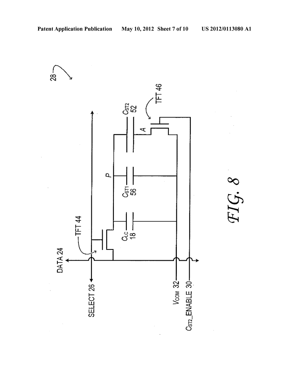 Thin-Film Transistor Liquid-Crystal Display with Variable Frame Frequency - diagram, schematic, and image 08
