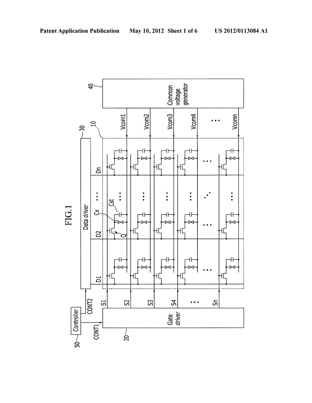 LIQUID CRYSTAL DISPLAY DEVICE AND DRIVING METHOD OF THE SAME - diagram, schematic, and image 02